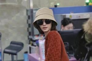 王麗坤私服穿搭真接地氣!酒紅色毛衣搭配牛仔闊腿褲,日常又百搭