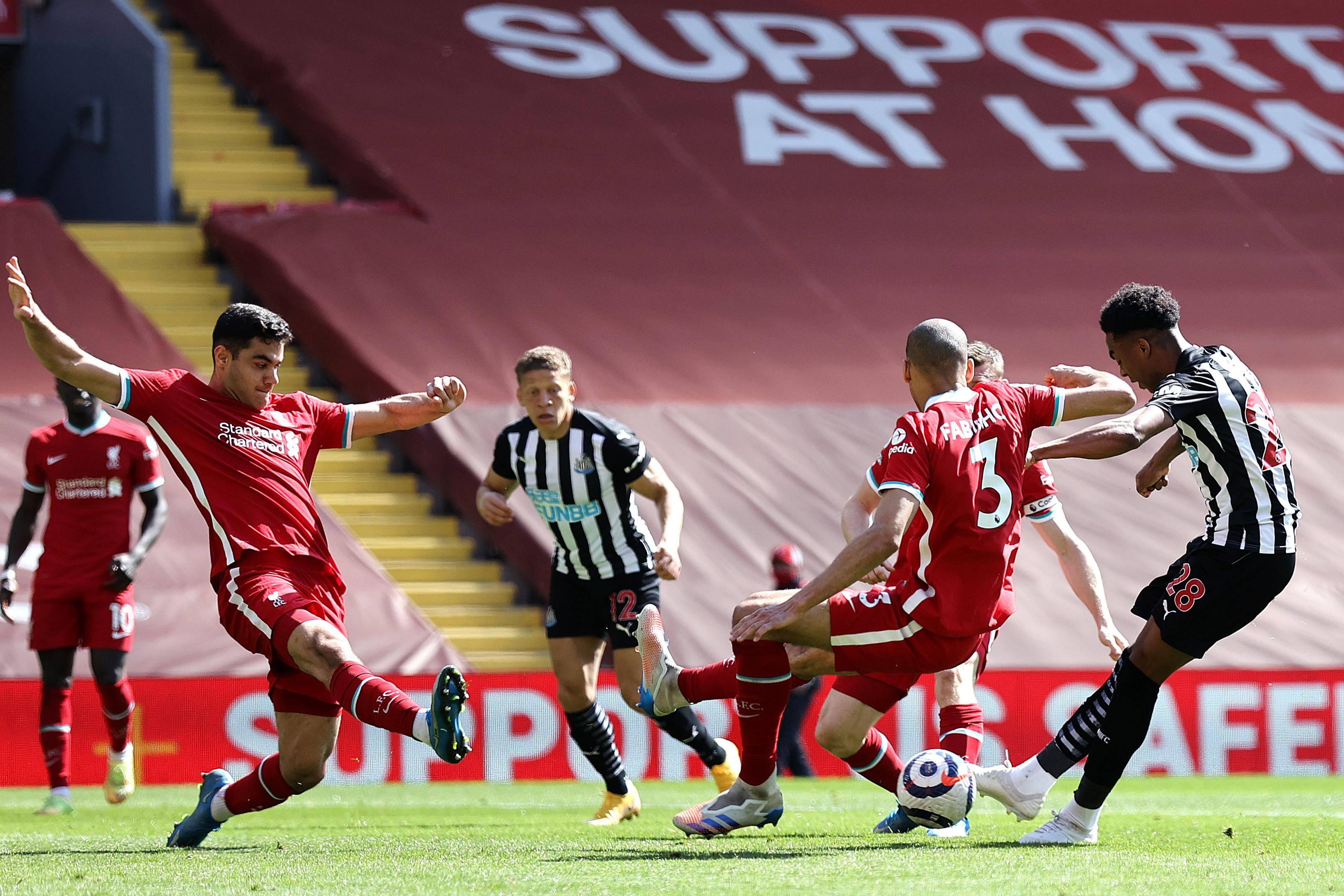 原创             耻辱!利物浦2021年主场仅拿5分 英伦92队倒数第2