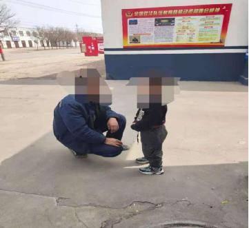 乌海:5岁男孩走失民警帮忙找回
