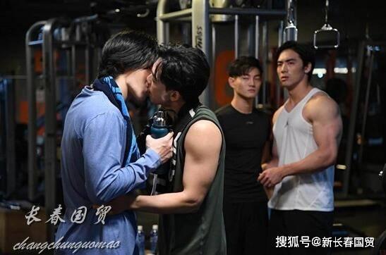 林瑞阳帅儿子与男星荧屏激吻,直言只想跟对方组CP