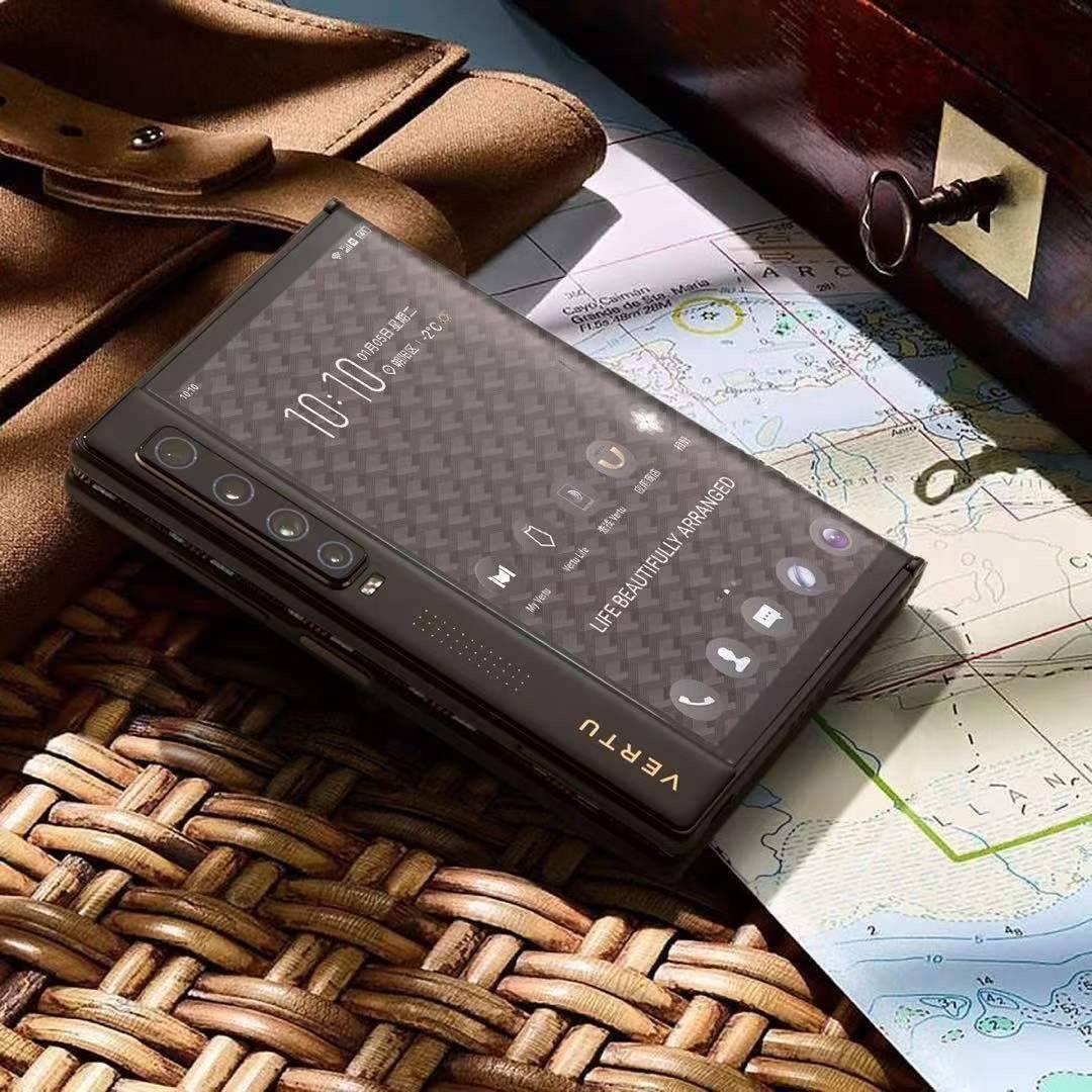 英国奢侈手机VERTU新款5G折叠屏2021隆重上市了