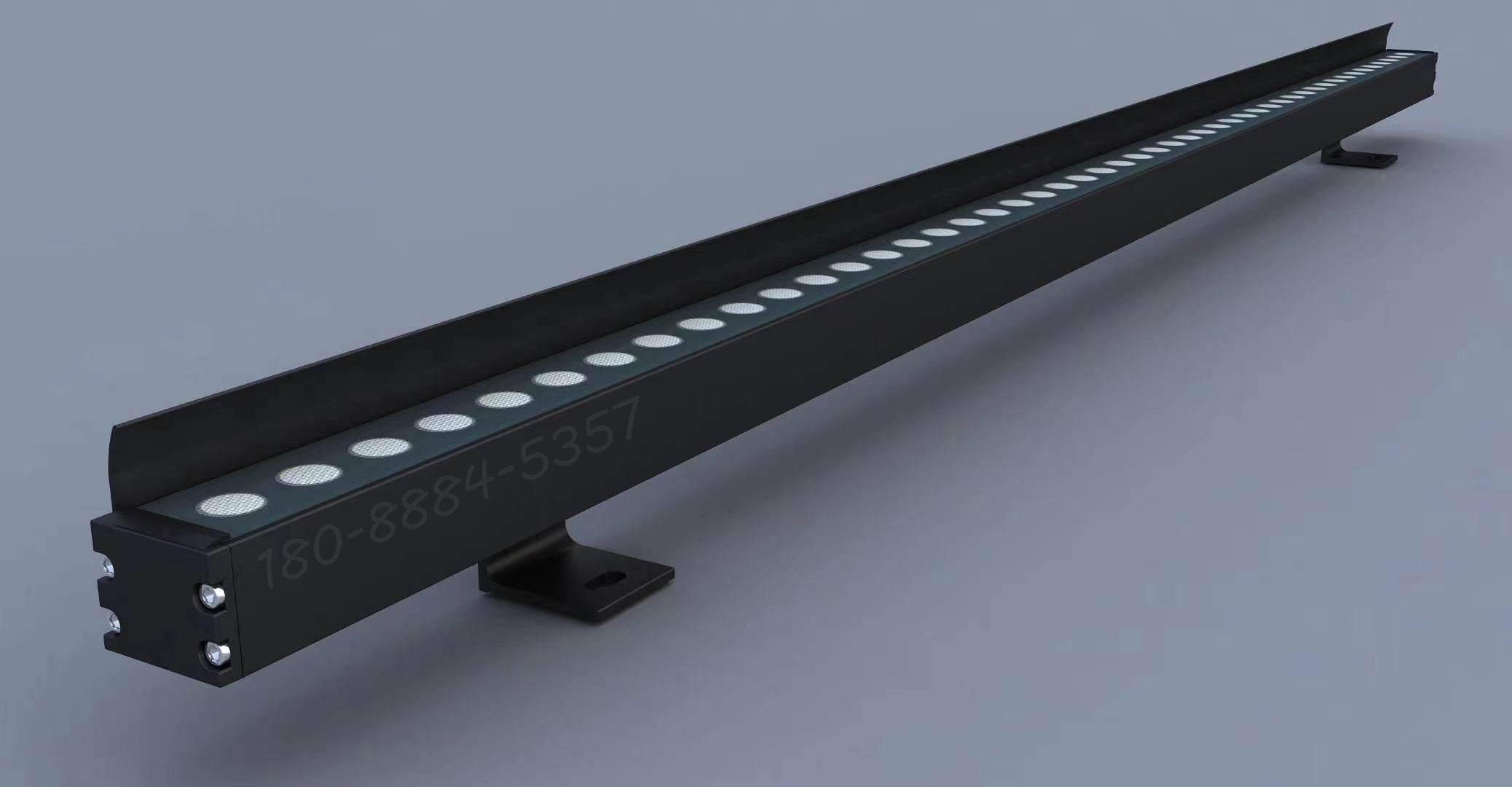 DMX512RGBW洗墙灯怎么安装