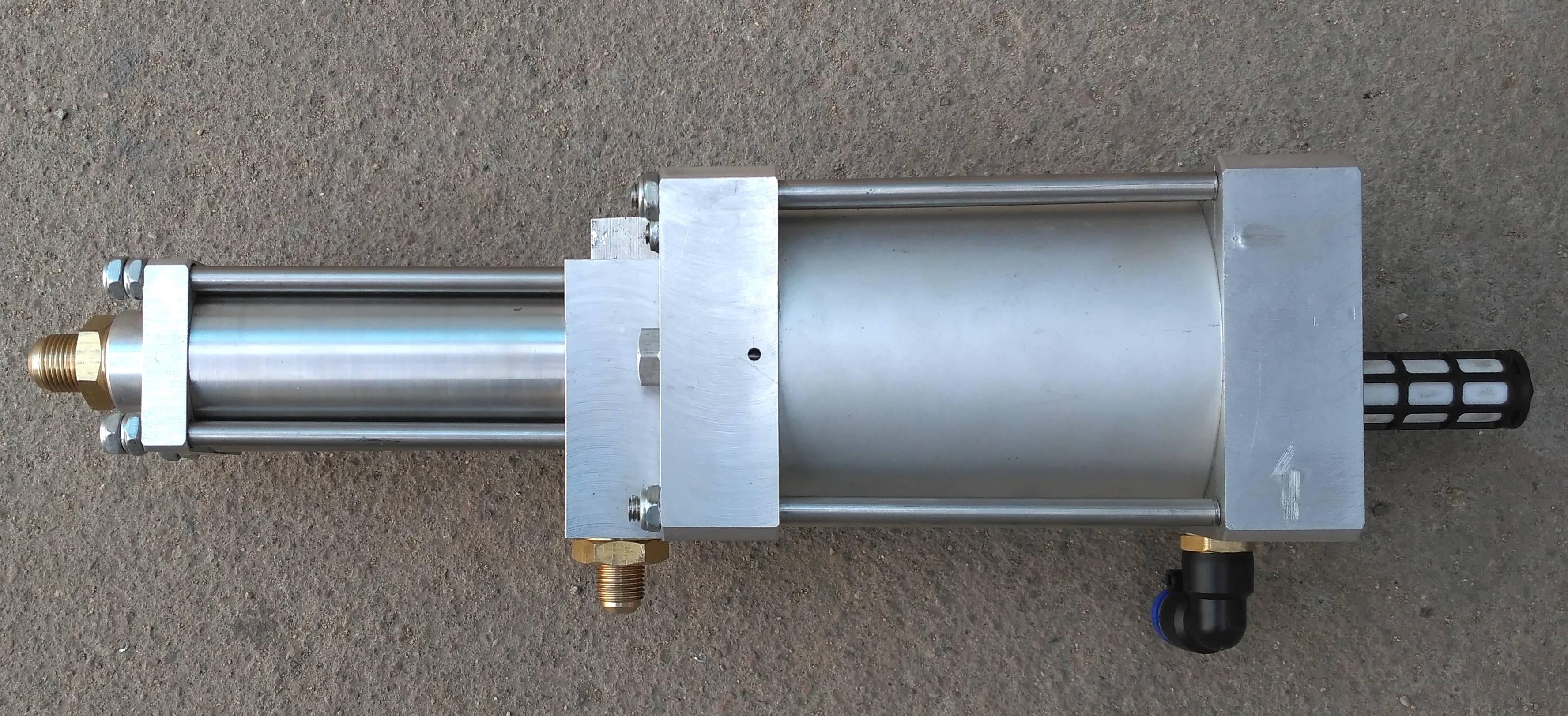 大流量气体增压泵应用-济南欧利特流体提供