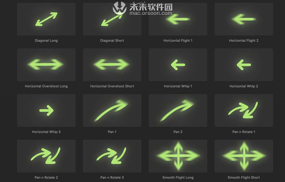 fcpx转场:Omotion Camera Moves for Mac(模拟摄像运动)