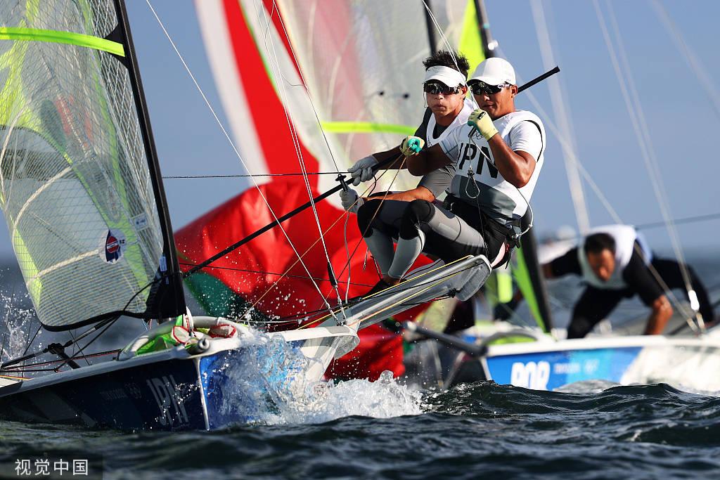 东奥帆船比赛第3日:中国4人出战 张东霜第30