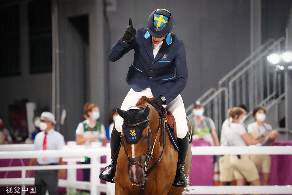 瑞典加冕奥运马术障碍团体冠军 美国比利时分获二、三_胜道体育注册