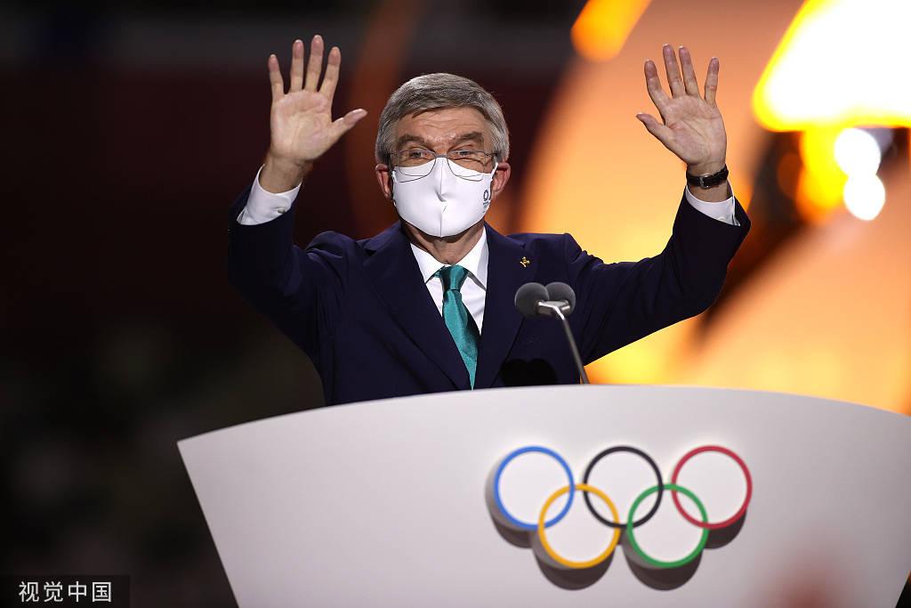 巴赫:2020东京奥运会是希望、团结、和平的奥运会_玩家汇登录