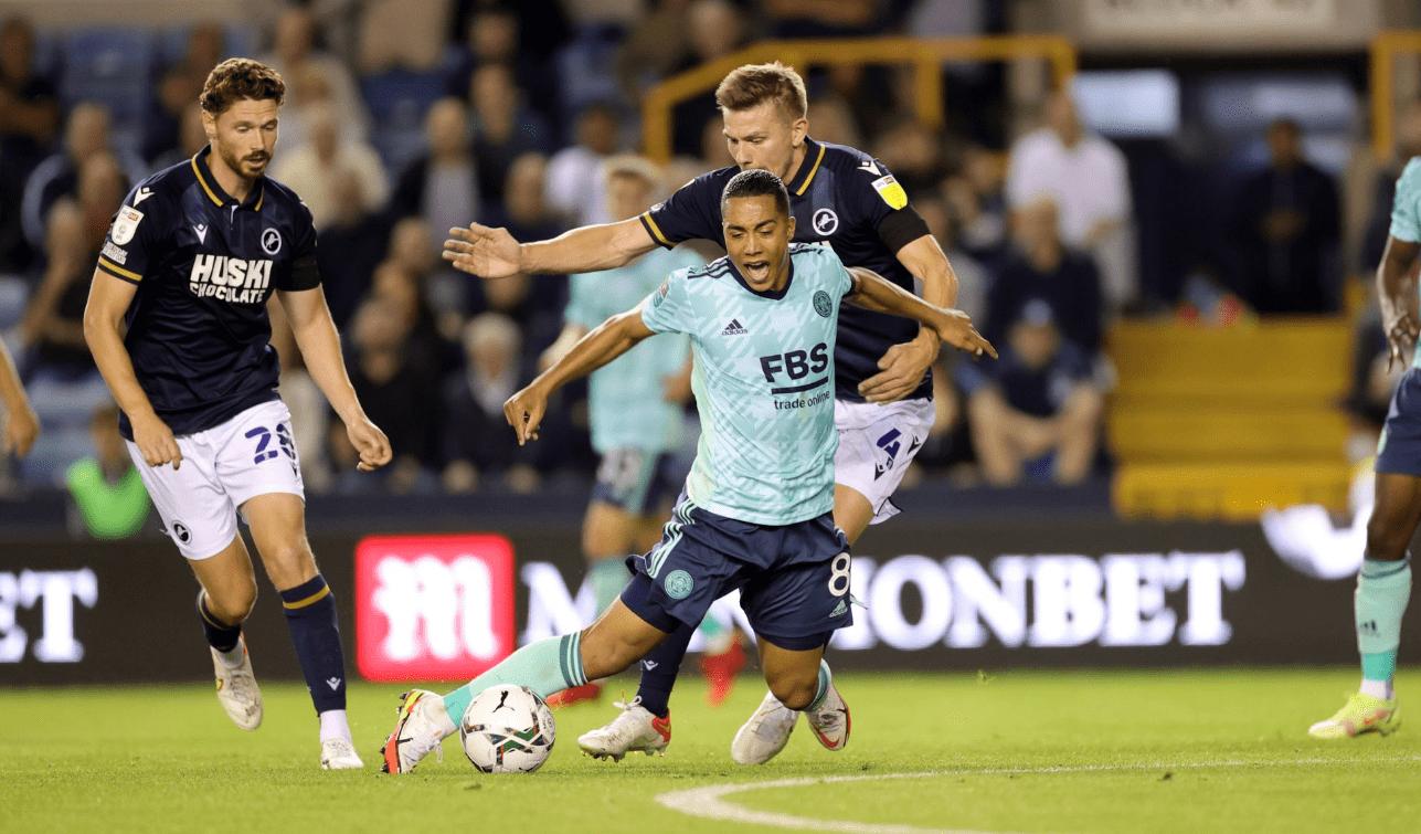 比赛日:莱斯特城2-0完胜晋级 沙奇里破门里昂3-1