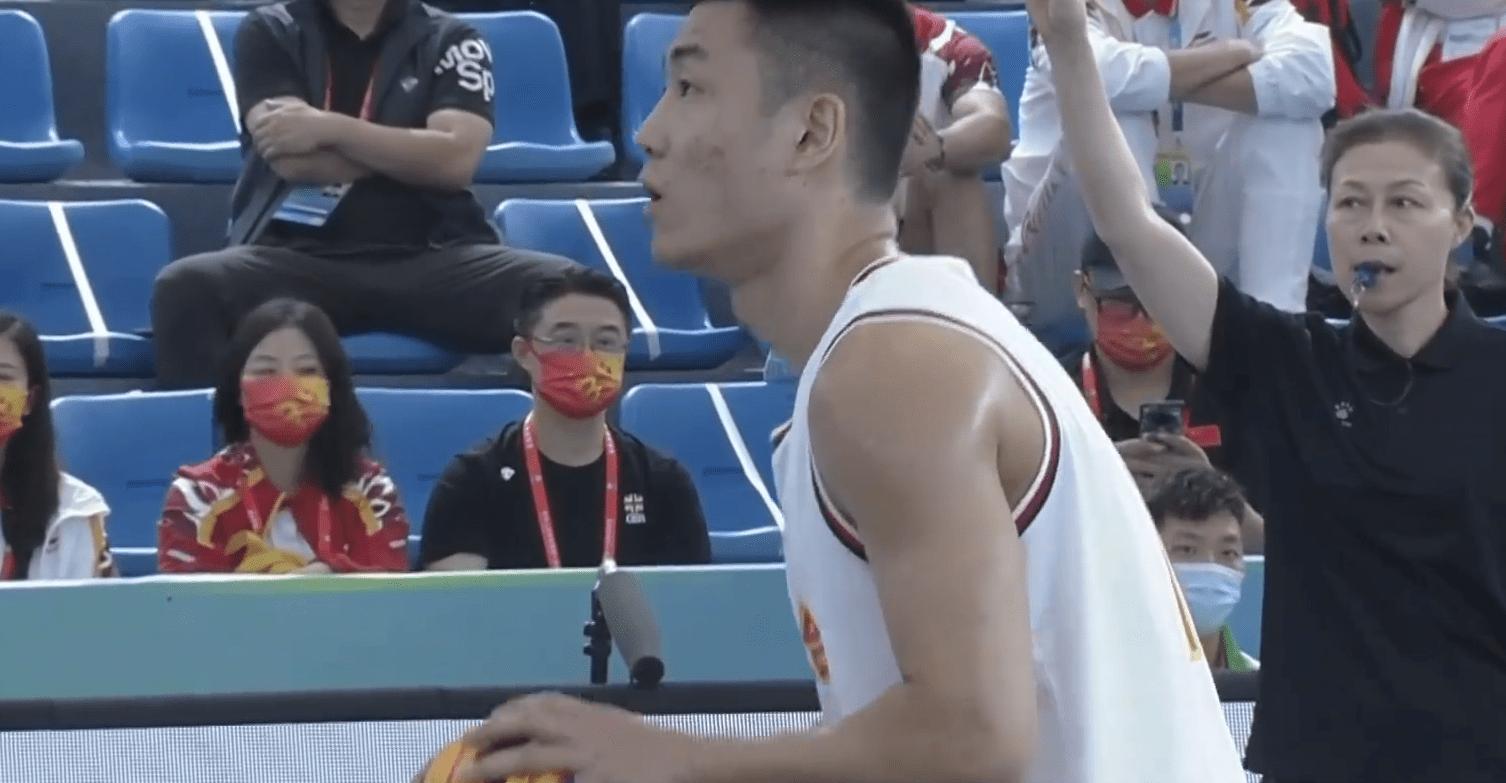 全运三人男篮-胡金秋9分3板高诗岩2分 奥运联合队胜上海