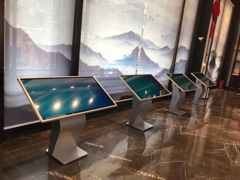 OBOO鸥柏多媒体馆展厅博物馆触摸屏查询一体机案例科技评测