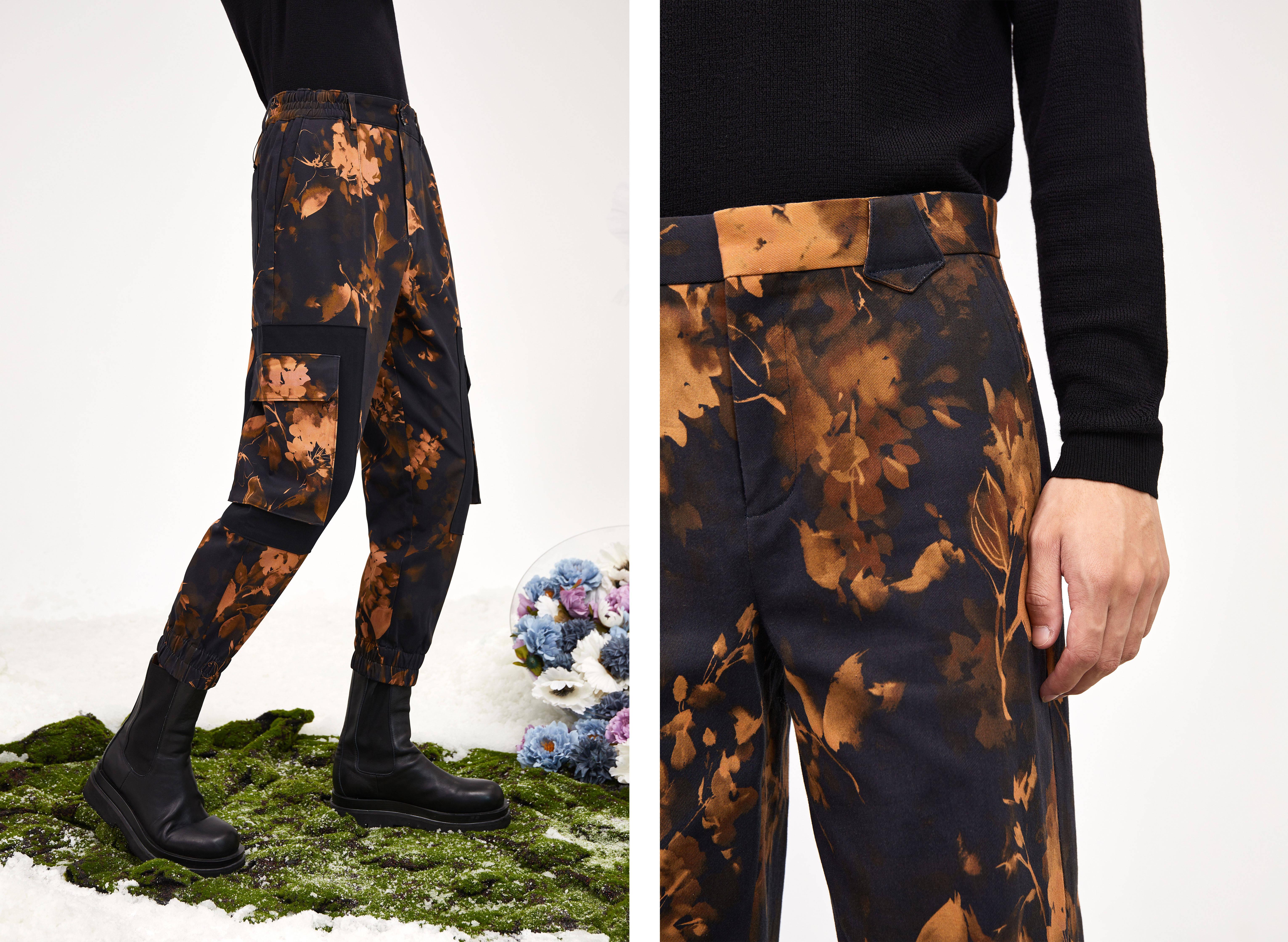 男裤专家九牧王联名前Gucci设计师小黑