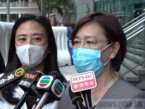 《国歌条例草案》审议期间反对派议员泼恶臭液体,5名建制派议员赴港警总部报案