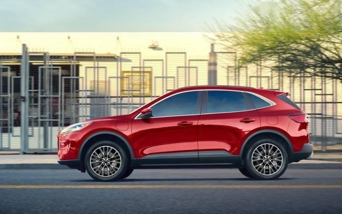 福特2020款Escape PHEV燃油經濟達100MPG