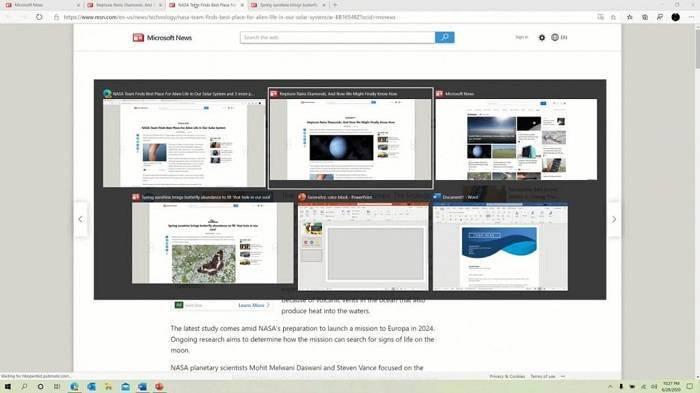 微软正在调整Win10窗口切换组合键的体验的照片 - 2