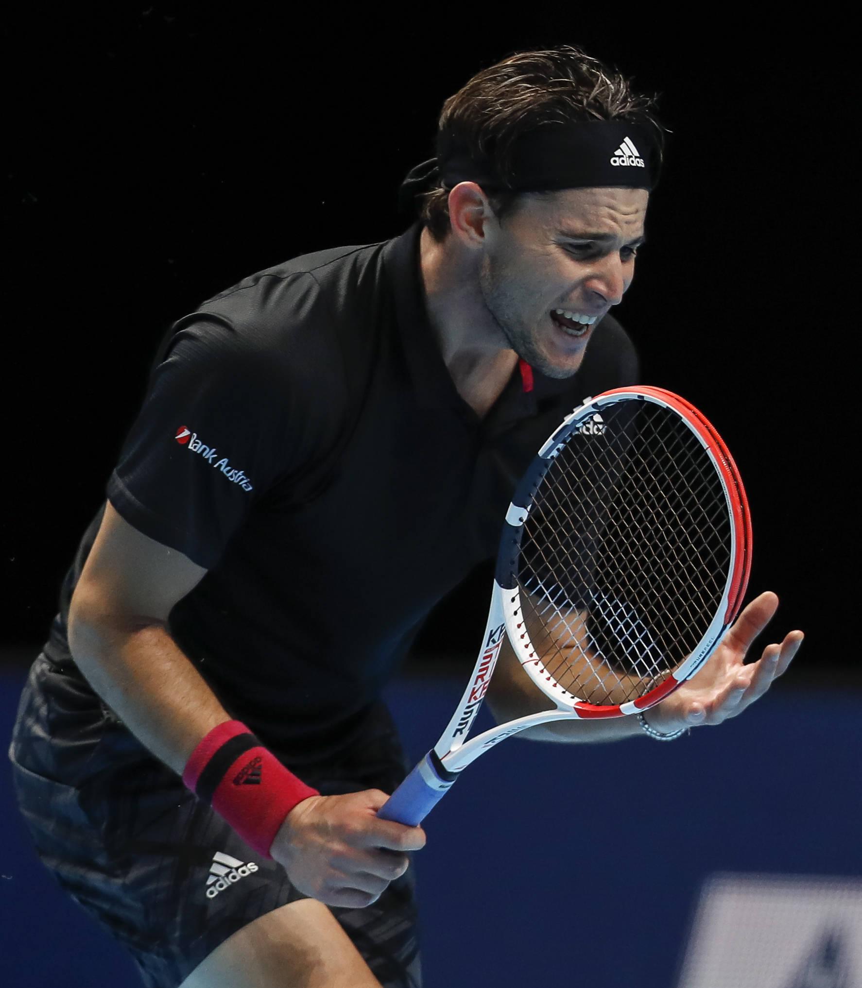 网球——蒂姆获得ATP年终总决赛亚军