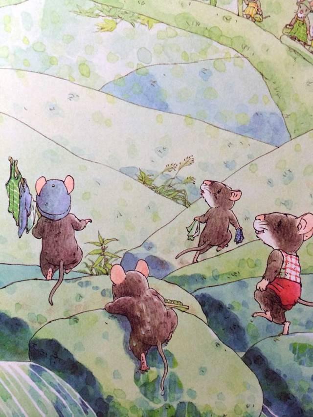 有声绘本:14只老鼠洗衣服  第12张