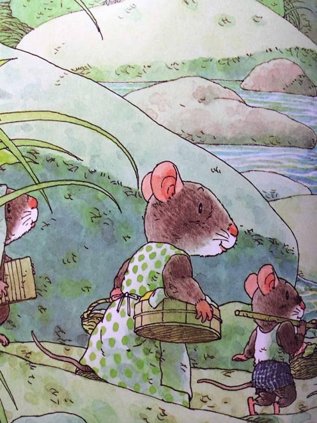 有声绘本:14只老鼠洗衣服  第5张
