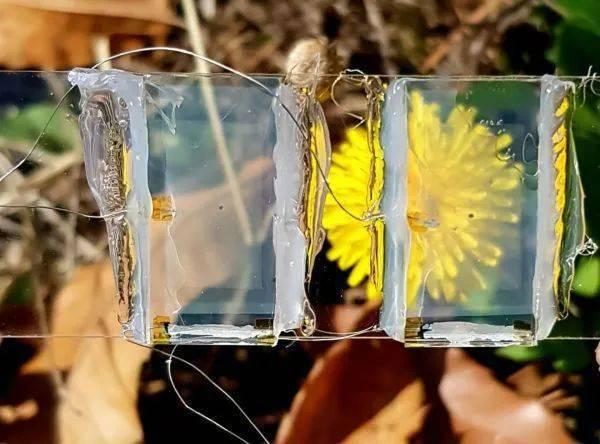 首款透明太阳能电池可让窗户发电