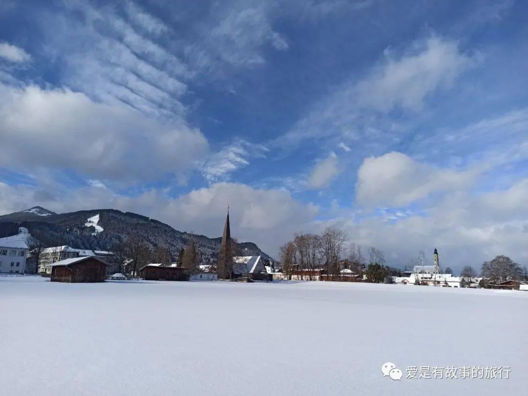 南德罕见大雪,冬日惊艳阿尔卑斯山