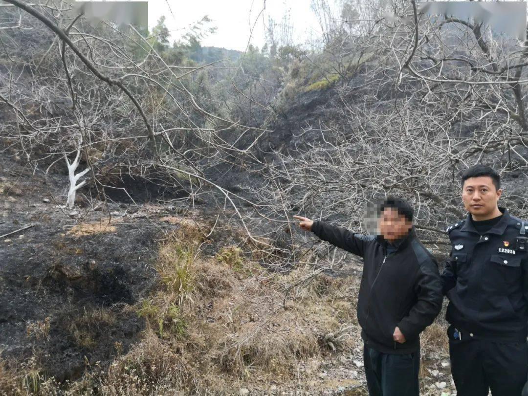 17天27人被拘!五华警方严惩山火肇事行为