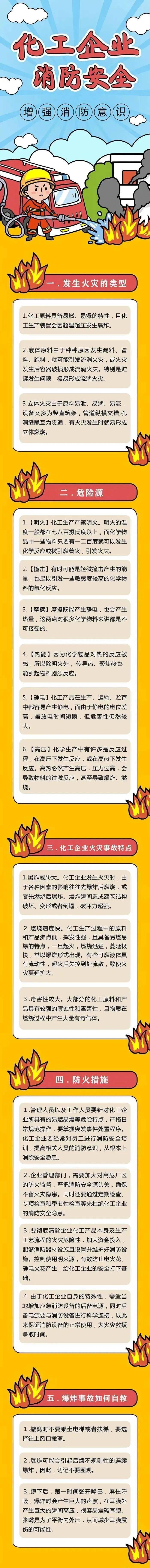 应急科普丨化工企业消防安全常识