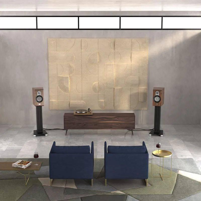 高德平台指定注册【新品速递】经典设计新潮流: 瑞典马田Marten Parker Duo书架音箱