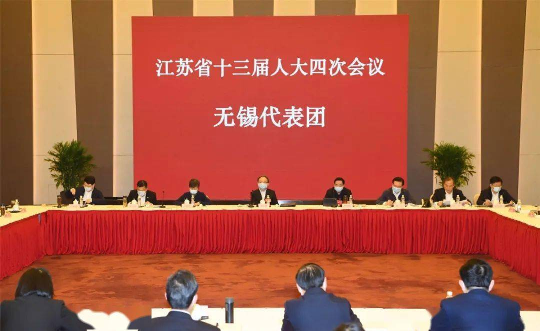 """无锡代表团审议省人大常委会和省""""两院""""工作报告"""