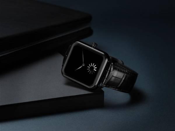 大发国际DLC钢表壳上配有一块Vantablack表盘