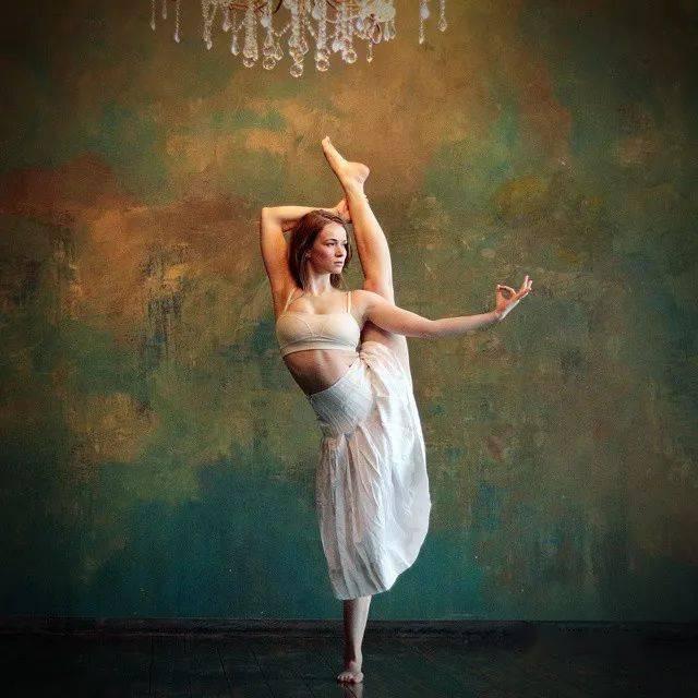 她是我见过的最美的瑜伽妈妈,没有之一!