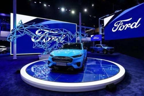 福特开启电气化战略,带动福特销量飞跃_Mustang