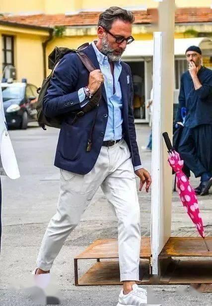 时尚又成熟的质感搭配!商务型男必学的正式休闲风 爸爸 第4张