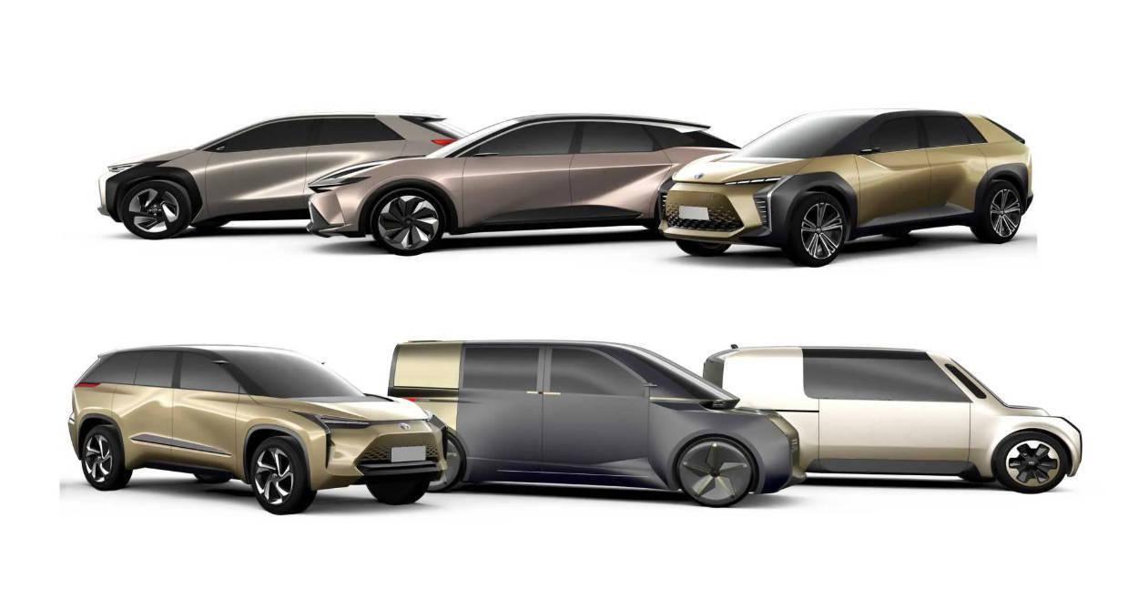 包括纯电及插混动力 丰田最新电气化车型计划_产品