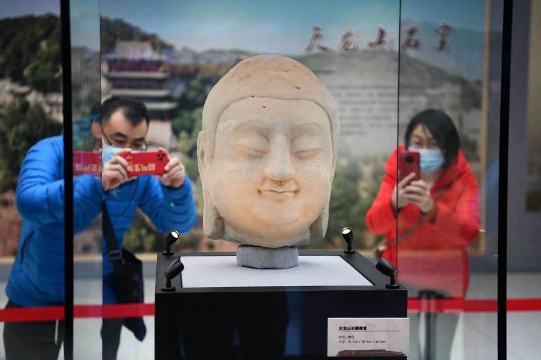 @在北京的山西人,春晚首次亮相的国宝天龙山石窟佛首,在这里可预约参观→  第4张