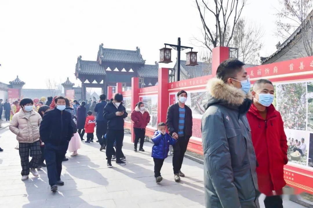 中国年在忻州:忻州古城真红火  第19张