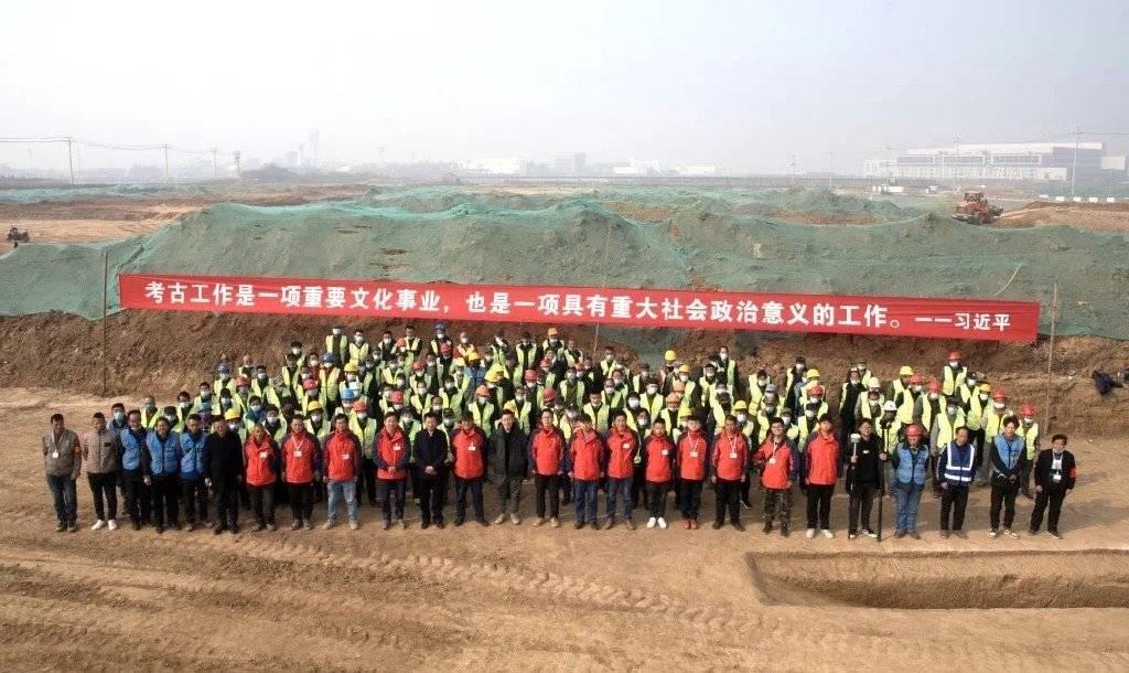西安咸阳国际机场扩建,发现古墓3500余座