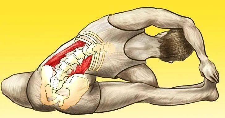 腰肌劳损,腰酸背痛?在家躺着做这6个瑜伽动作就对了!_双腿