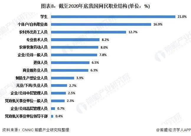 2020各国网民评论中国gdp_2020年中国互联网网民结构状况 近五成网民月收入在3000元以上