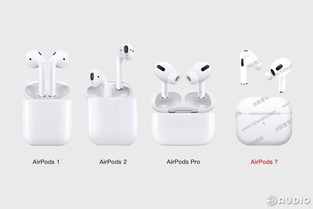 泄漏图显示新 AirPods 采用类似 Pro 版设计,充电盒更小巧