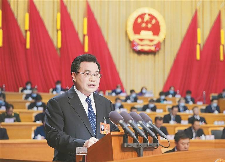 候补中央委员胡昌升,当选黑龙江省长