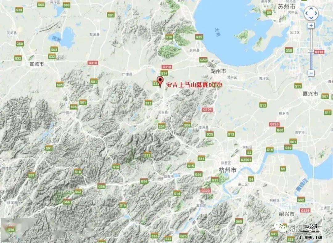 浙江安吉上马山179号土墩考古发掘