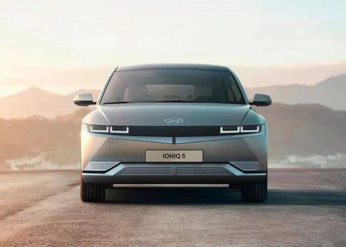 车身硬朗有力,内饰简约舒适,现代的IONIQ 5正式发布