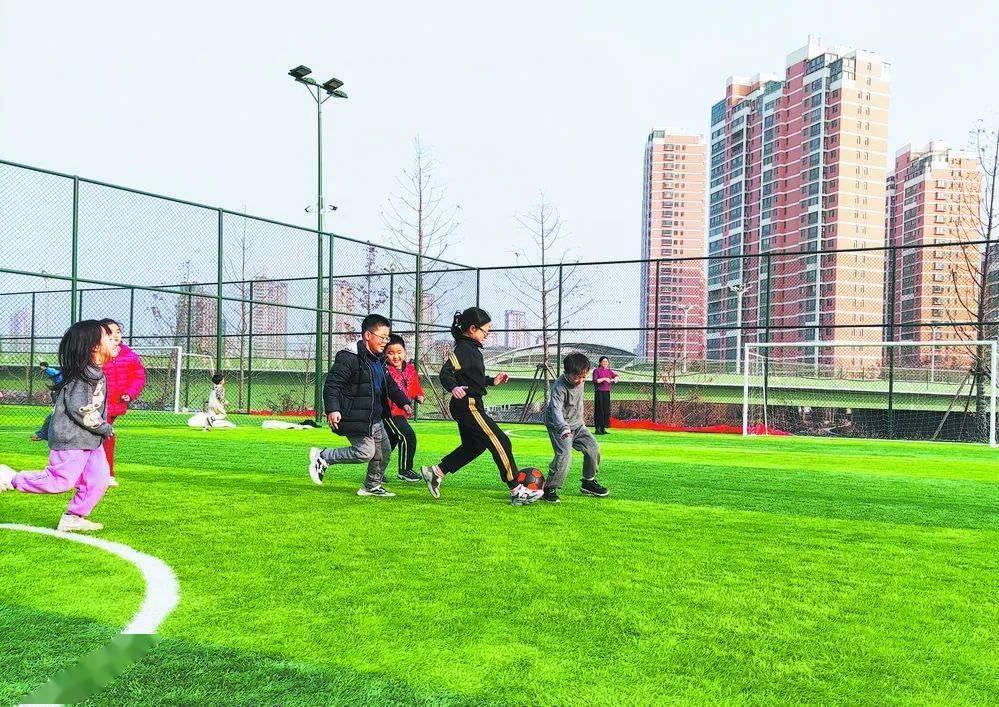 公共体育配套设施进一步完善,菏泽群众共享健康年
