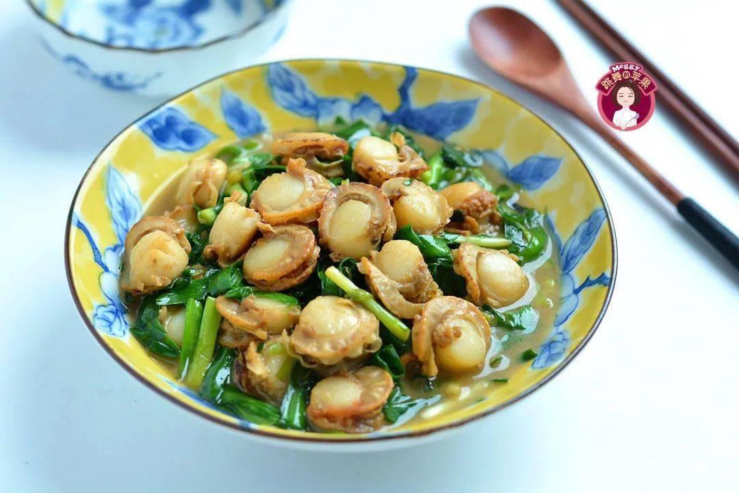 韭菜炒贝肉:营养丰富,味道鲜美,孩子越吃越聪明
