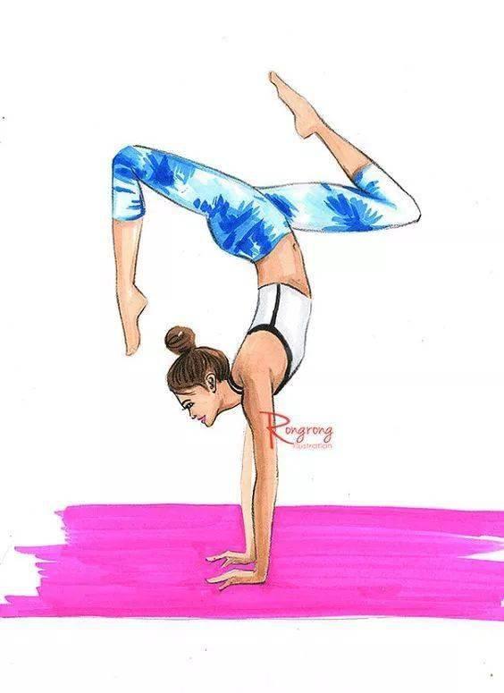 女人为什么一定要练瑜伽?因为穷啊!