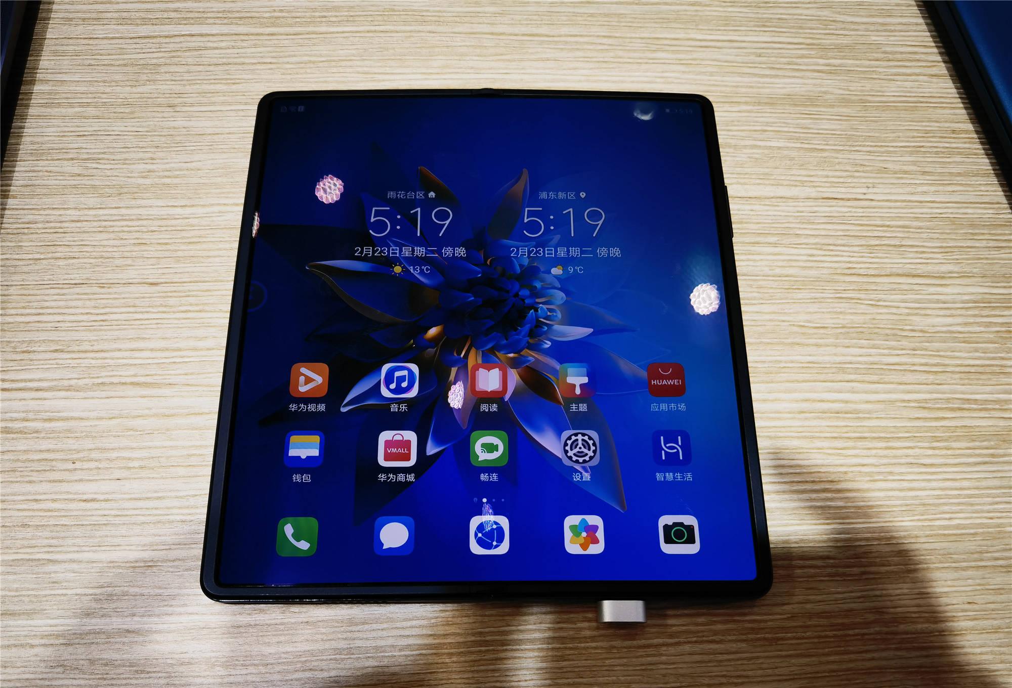 2021MWC 上海展 各式手机争奇斗艳