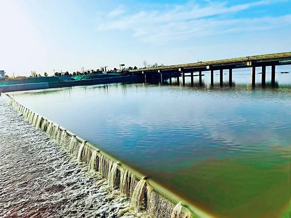 西安航空基地清河水生态环境治理成效显著