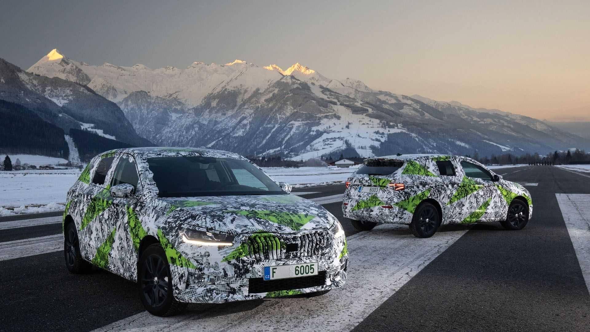 斯柯达发布第四代景瑞原型车官方地图,轴距比第四代高尔夫更长
