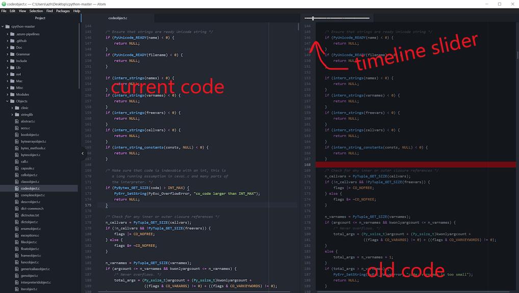 为什么我们很难看到代码 5 分钟前的样子?