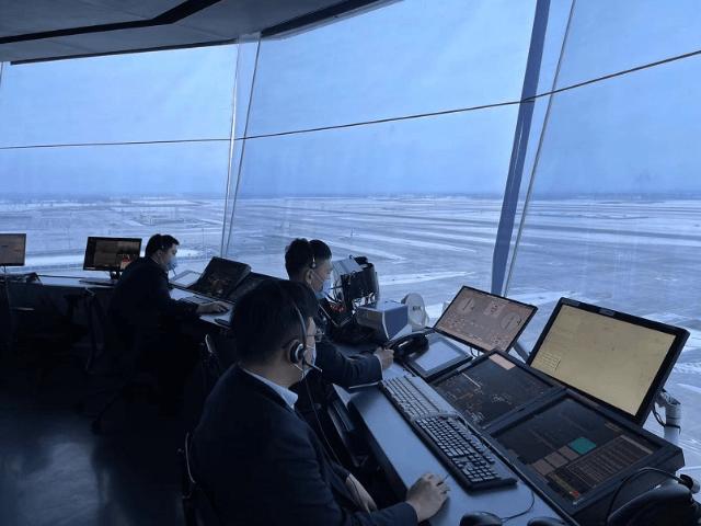 降雪天来临,华北空管保障运输疫苗航班优先起飞