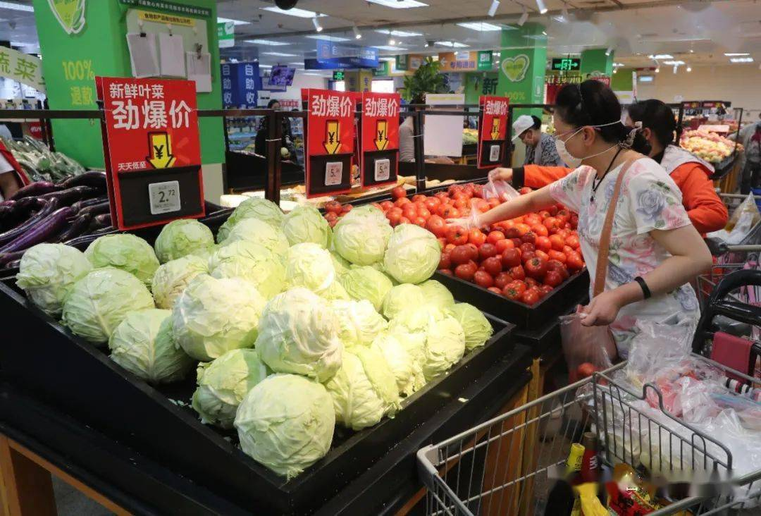 春节过后我省肉类蔬菜价格明显回落,粮油价格运行平稳